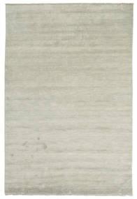 Handloom Fringes - Grau/Hellgrün Teppich  200X300 Moderner Hellgrau/Hellbraun (Wolle, Indien)