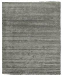 Handloom Fringes - Dunkelgrau Teppich  200X250 Moderner Dunkelgrau (Wolle, Indien)