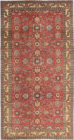 Täbriz Patina Teppich  168X318 Echter Orientalischer Handgeknüpfter Dunkelrot/Hellbraun (Wolle, Persien/Iran)