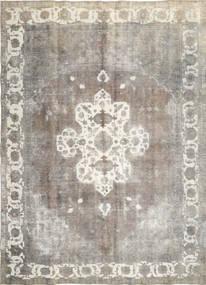 Colored Vintage Teppich  285X393 Echter Moderner Handgeknüpfter Hellgrau/Dunkel Beige Großer (Wolle, Persien/Iran)