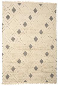 Yoko Teppich  200X300 Echter Moderner Handgeknüpfter Beige/Hellgrau (Wolle, Indien)