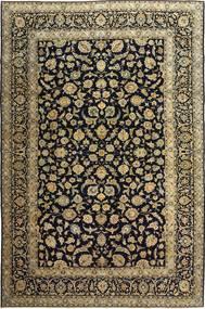Keshan Patina Teppich  255X385 Echter Orientalischer Handgeknüpfter Schwartz/Hellbraun Großer (Wolle, Persien/Iran)