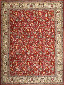 Täbriz Patina Teppich  290X390 Echter Orientalischer Handgeknüpfter Rost/Rot/Hellbraun Großer (Wolle, Persien/Iran)