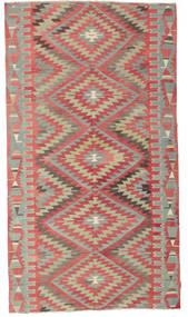 Kelim Halbantik Türkei Teppich  177X320 Echter Orientalischer Handgewebter Rost/Rot/Hellbraun (Wolle, Türkei)
