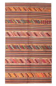 Kelim Halbantik Türkei Teppich 167X290 Echter Orientalischer Handgewebter Rost/Rot/Dunkelrot (Wolle, Türkei)