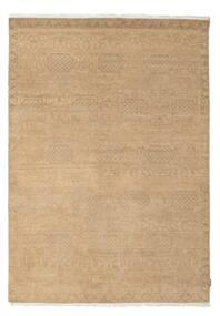 Himalaya Teppich  187X265 Echter Moderner Handgeknüpfter Dunkel Beige/Hellbraun (Wolle, Indien)