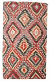 Kelim Halbantik Türkei Teppich 170X298 Echter Orientalischer Handgewebter Hellgrau/Rost/Rot (Wolle, Türkei)