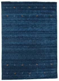 Gabbeh Loom Two Lines - Dunkelblau Teppich  240X340 Moderner Dunkelblau (Wolle, Indien)