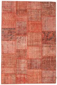 Patchwork Teppich  197X300 Echter Moderner Handgeknüpfter Rot/Hellrosa (Wolle, Türkei)