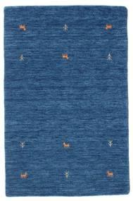 Gabbeh Loom Two Lines - Blau Teppich  100X160 Moderner Dunkelblau/Blau (Wolle, Indien)