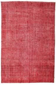 Colored Vintage Teppich  215X325 Echter Moderner Handgeknüpfter Rost/Rot/Rot (Wolle, Türkei)