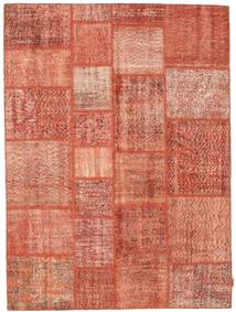 Patchwork Teppich  170X231 Echter Moderner Handgeknüpfter Hellrosa/Rot (Wolle, Türkei)