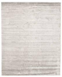 Bambus Seide Loom - Warm Grau Teppich  200X250 Moderner Hellgrau ( Indien)