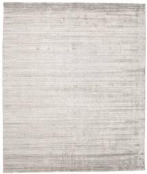 Bambus Seide Loom - Warm Grau Teppich  250X300 Moderner Hellgrau Großer ( Indien)