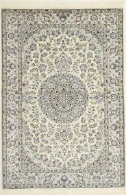 Nain 6La Teppich  119X174 Echter Orientalischer Handgeknüpfter (Wolle/Seide, Persien/Iran)