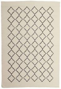 Marjorie - Naturweiß Teppich  200X300 Echter Moderner Handgewebter Dunkel Beige/Hellgrau/Beige (Wolle, Indien)