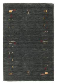 Gabbeh Loom Frame - Dunkelgrau/Grün Teppich  100X160 Moderner Dunkelgrün (Wolle, Indien)