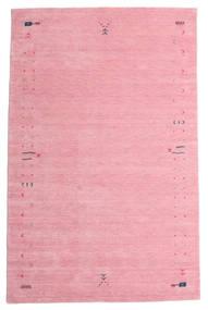 Gabbeh Loom Frame - Rosa Teppich 190X290 Moderner Hellrosa/Rosa (Wolle, Indien)