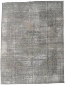 Colored Vintage Teppich 284X375 Echter Moderner Handgeknüpfter Hellgrau/Dunkelgrau Großer (Wolle, Persien/Iran)