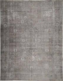 Colored Vintage Teppich  290X379 Echter Moderner Handgeknüpfter Hellgrau/Dunkelgrau Großer (Wolle, Persien/Iran)