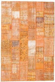 Patchwork Teppich  200X298 Echter Moderner Handgeknüpfter Orange/Hellbraun (Wolle, Türkei)