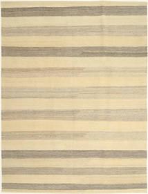 Kelim Modern Teppich  172X240 Echter Moderner Handgewebter Beige/Hellgrau (Wolle, Persien/Iran)