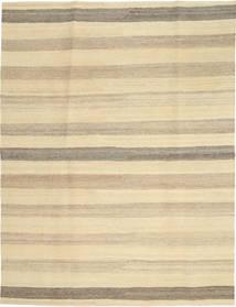 Kelim Modern Teppich  174X236 Echter Moderner Handgewebter Gelb/Beige (Wolle, Persien/Iran)