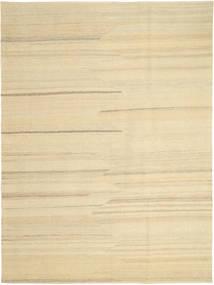 Kelim Modern Teppich  176X242 Echter Moderner Handgewebter Beige/Dunkel Beige (Wolle, Persien/Iran)