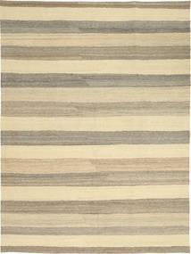 Kelim Modern Teppich  174X239 Echter Moderner Handgewebter Gelb/Hellgrau (Wolle, Persien/Iran)