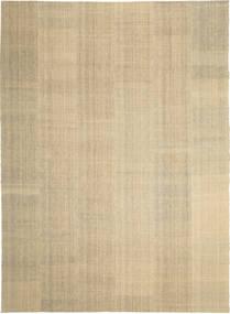 Kelim Modern Teppich  248X346 Echter Moderner Handgewebter Beige/Dunkel Beige (Wolle, Persien/Iran)