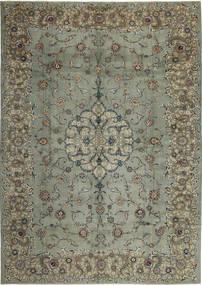 Keshan Patina Teppich 297X420 Echter Orientalischer Handgeknüpfter Dunkelgrau/Hellgrau Großer (Wolle, Persien/Iran)