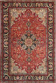 Täbriz Patina Teppich 205X305 Echter Orientalischer Handgeknüpfter Dunkelrot/Dunkelbraun (Wolle, Persien/Iran)
