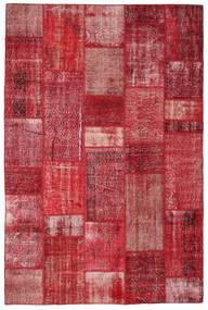 Patchwork Teppich  201X305 Echter Moderner Handgeknüpfter Rot/Rost/Rot (Wolle, Türkei)
