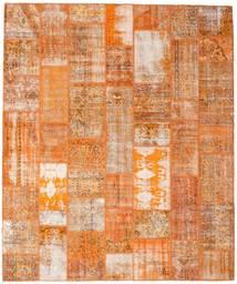 Patchwork Teppich 253X304 Echter Moderner Handgeknüpfter Hellbraun/Orange Großer (Wolle, Türkei)