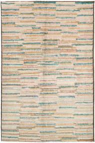 Barchi/Moroccan Berber Teppich 151X241 Echter Moderner Handgeknüpfter Beige/Dunkel Beige (Wolle, Afghanistan)