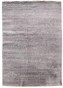 Damask Teppich  171X245 Echter Moderner Handgeknüpfter Hellgrau/Helllila ( Indien)