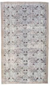Colored Vintage Teppich  155X264 Echter Moderner Handgeknüpfter Hellgrau (Wolle, Türkei)