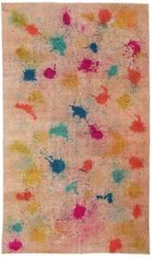 Colored Vintage Teppich  170X286 Echter Moderner Handgeknüpfter Hellbraun/Dunkelrot (Wolle, Türkei)