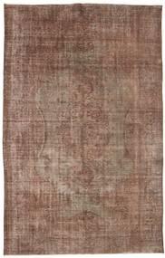 Colored Vintage Teppich  186X296 Echter Moderner Handgeknüpfter Braun/Hellgrau (Wolle, Türkei)