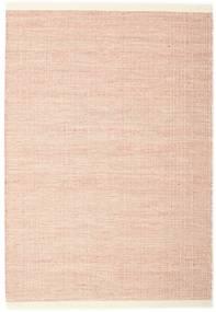 Seaby - Rost Teppich  140X200 Echter Moderner Handgewebter Gelb/Hellrosa (Wolle, Indien)