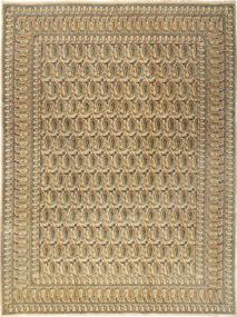 Keshan Teppich  277X376 Echter Orientalischer Handgeknüpfter Hellbraun/Dunkel Beige Großer (Wolle, Persien/Iran)