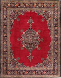 Keshan Teppich  315X410 Echter Orientalischer Handgeknüpfter Rot/Dunkelrot Großer (Wolle, Persien/Iran)