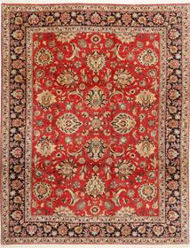 Bidjar Teppich  312X402 Echter Orientalischer Handgeknüpfter Rost/Rot/Dunkelbraun Großer (Wolle/Seide, Persien/Iran)