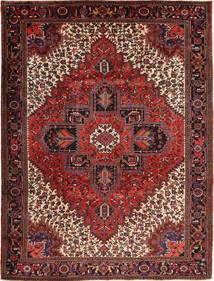 Heriz Teppich  254X338 Echter Orientalischer Handgeknüpfter Dunkelrot/Dunkelbraun Großer (Wolle, Persien/Iran)