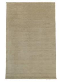 Handloom Fringes - Greige Teppich 250X350 Moderner Hellgrau Großer (Wolle, Indien)