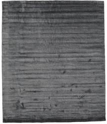 Bambus Seide Loom - Charcoal Teppich  250X300 Moderner Dunkelgrau/Lila Großer ( Indien)