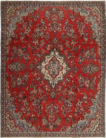 Hamadan Patina Teppich  252X335 Echter Orientalischer Handgeknüpfter Dunkelrot/Rost/Rot Großer (Wolle, Persien/Iran)