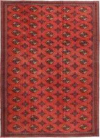 Turkaman Patina Teppich  240X337 Echter Orientalischer Handgeknüpfter Dunkelrot/Rost/Rot (Wolle, Persien/Iran)