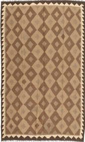 Kelim Maimane Teppich  153X249 Echter Orientalischer Handgewebter Braun/Hellbraun (Wolle, Afghanistan)