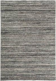 Mazic - Dunkelgrau Teppich 120X180 Echter Moderner Handgeknüpfter Dunkelgrau/Hellgrau (Wolle, Indien)